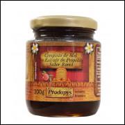 Composto de Mel e Extrato de Própolis sabor Romã 300g